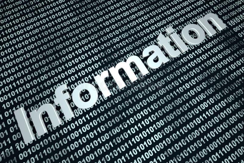 informatie royalty-vrije illustratie