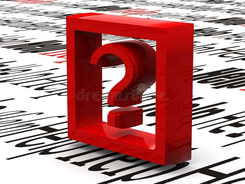 Informatie. Symbool vector illustratie