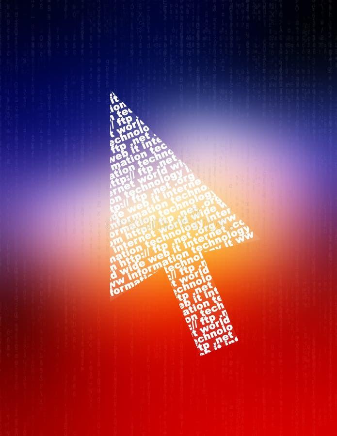 Informatietechnologie vector illustratie