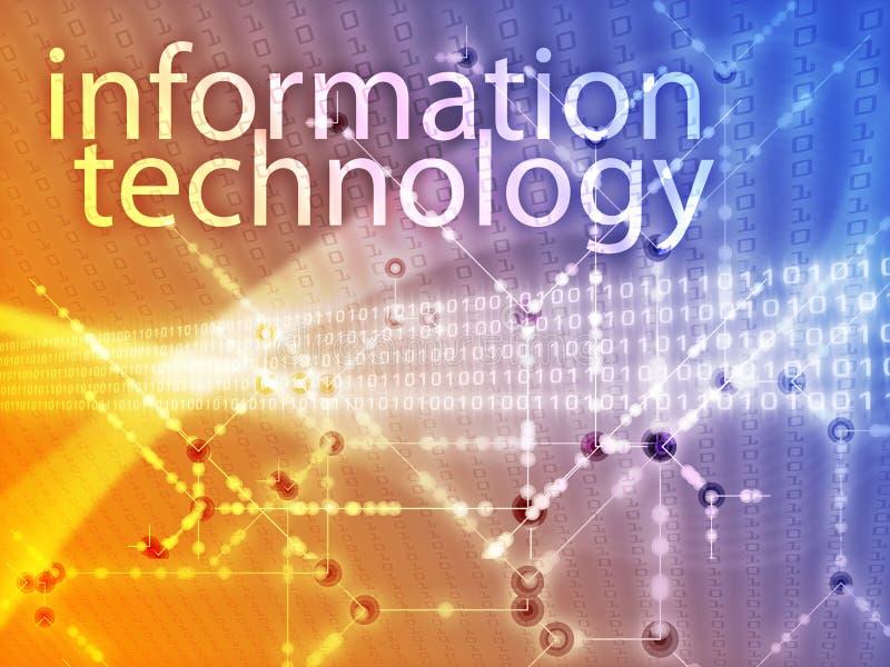 Informatietechnologie illustratie royalty-vrije illustratie