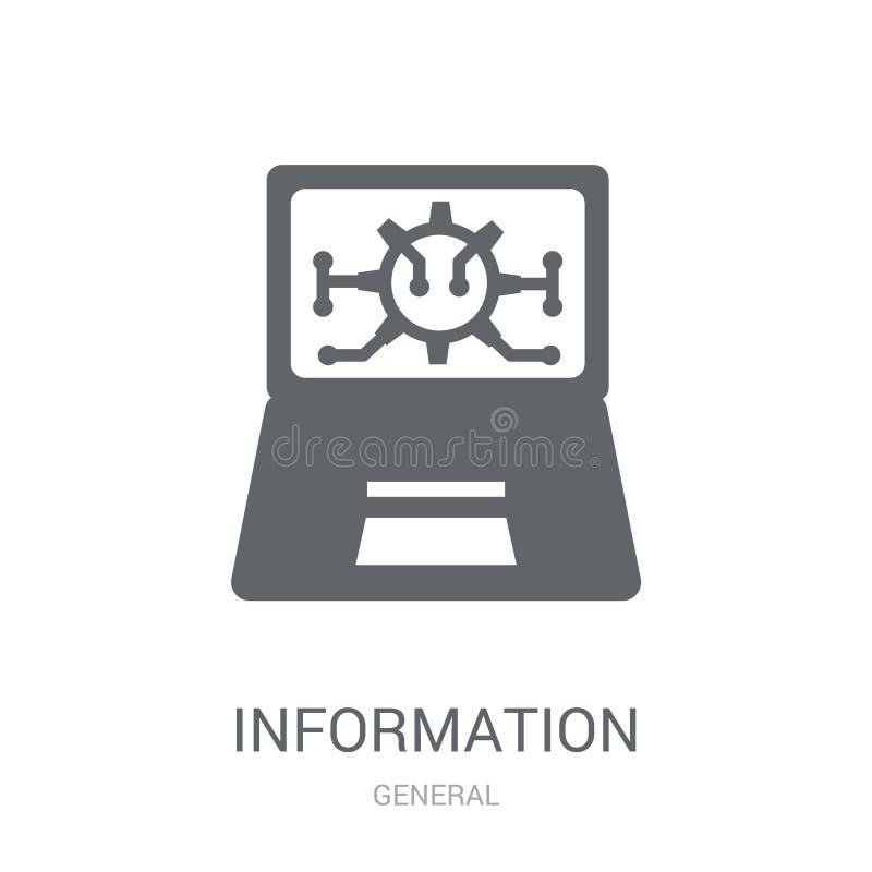 informatietechnologie pictogram  vector illustratie
