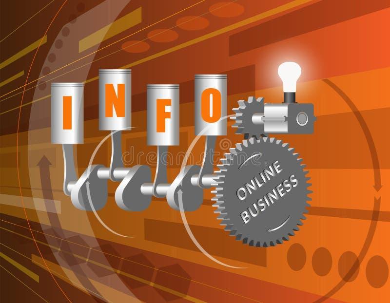 Informatiezaken royalty-vrije stock afbeelding