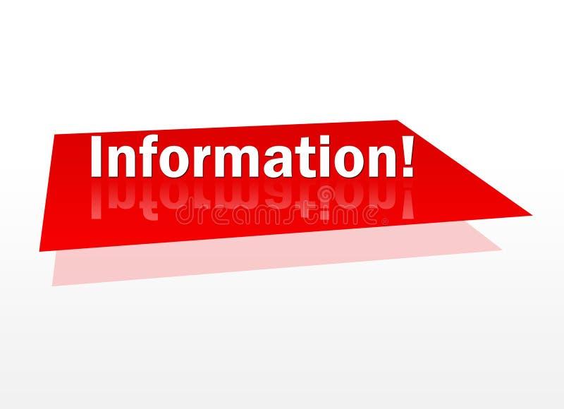 Information! arkivfoto