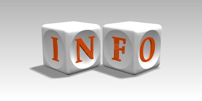 Information illustration libre de droits