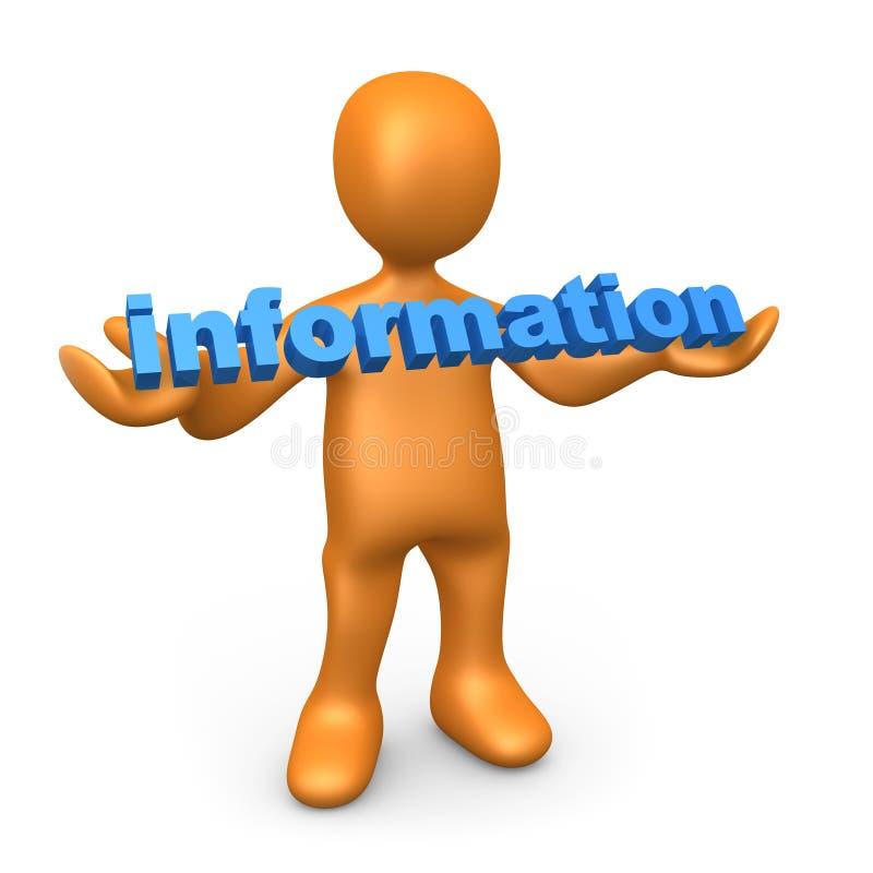 Information vector illustration