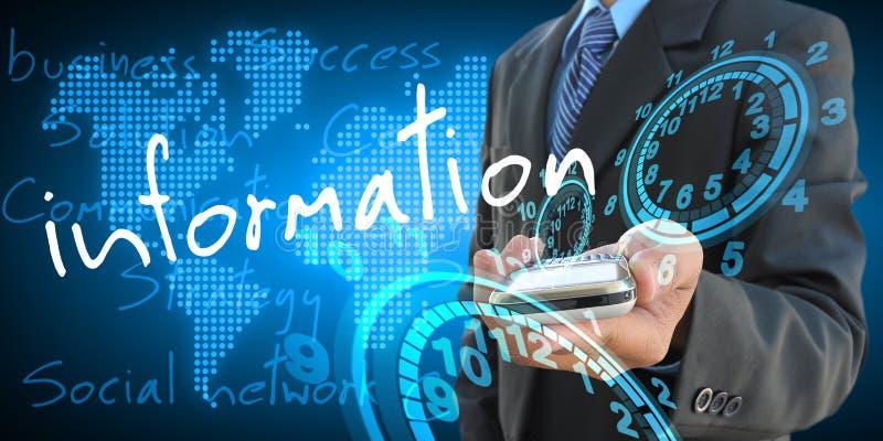 information royaltyfria foton