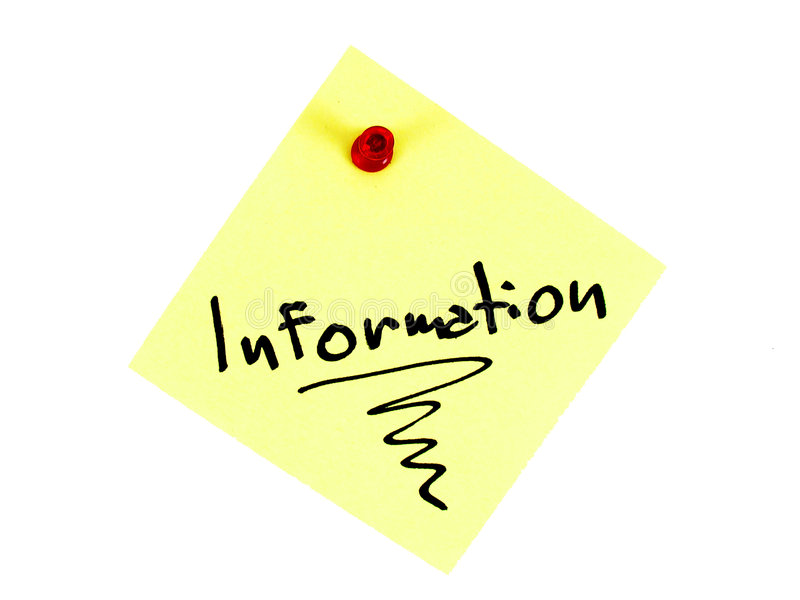 Information stock images