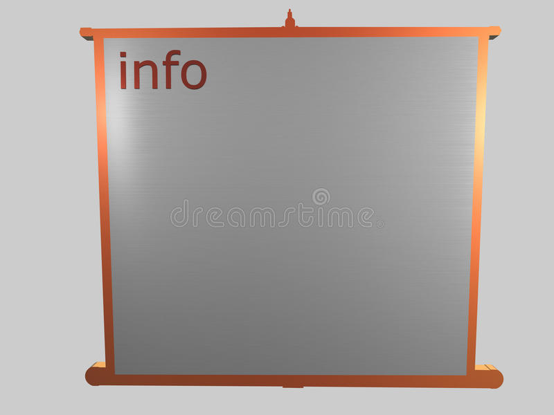 Download Information Board Royalty Free Stock Photo - Image: 12185265