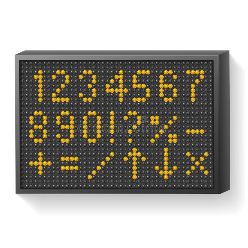 Download Information board stock illustration. Image of nobody - 33320459