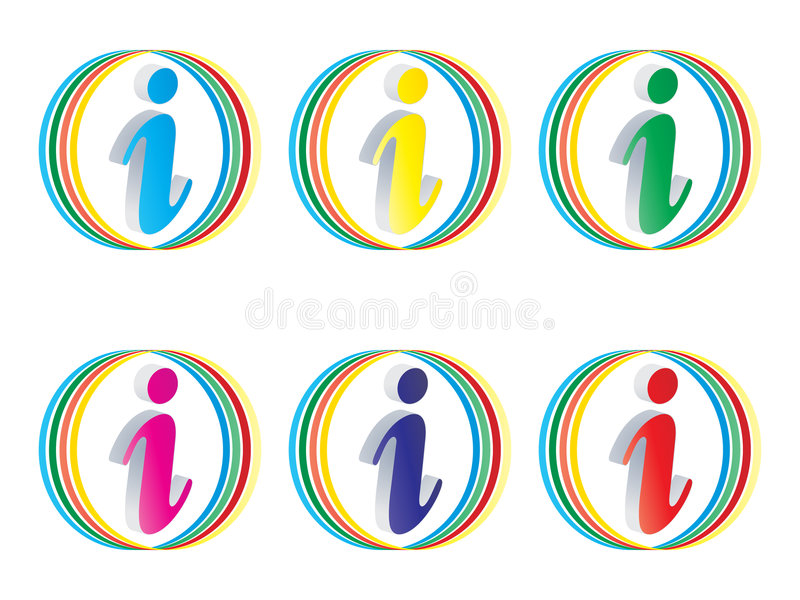 Download Information buttons stock vector. Illustration of knowledge - 6819761