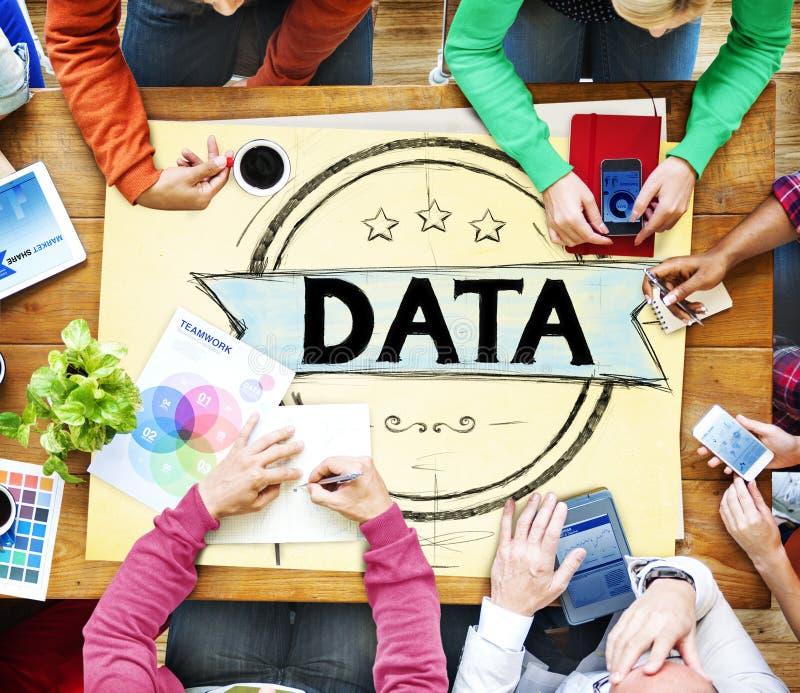Information Data Analysis System Database Concept stock photo