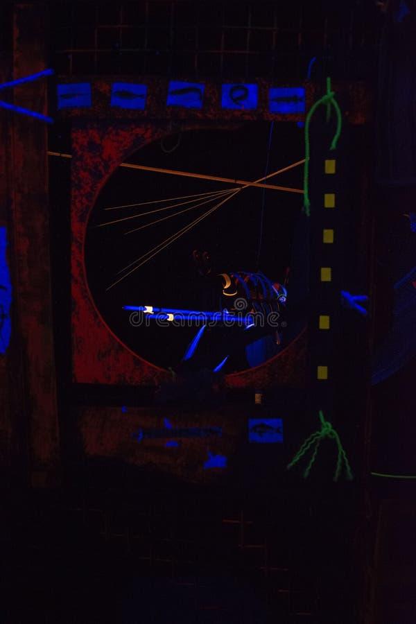 Information i mörkret - 2 royaltyfri foto