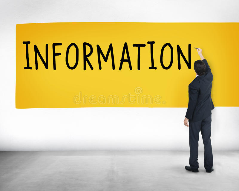 Information Info Research Sharing Media Concept stock images