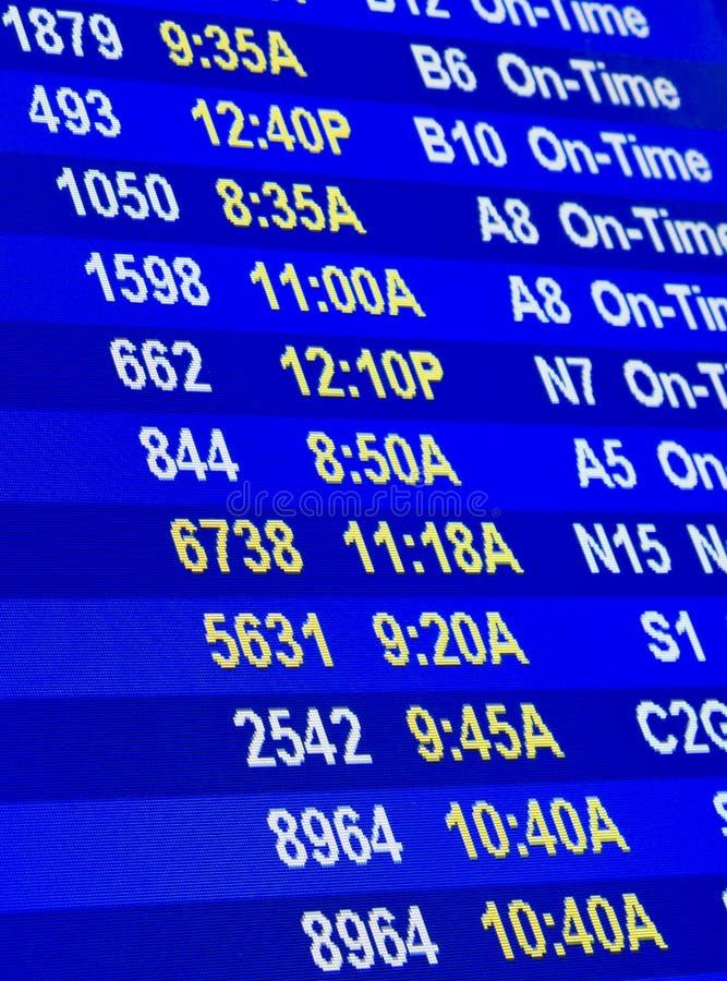 Information om flyg