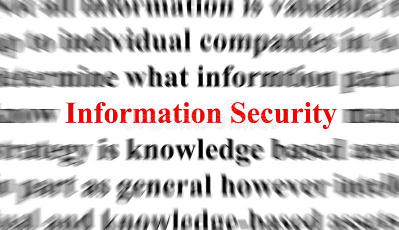 Information Security vector illustration