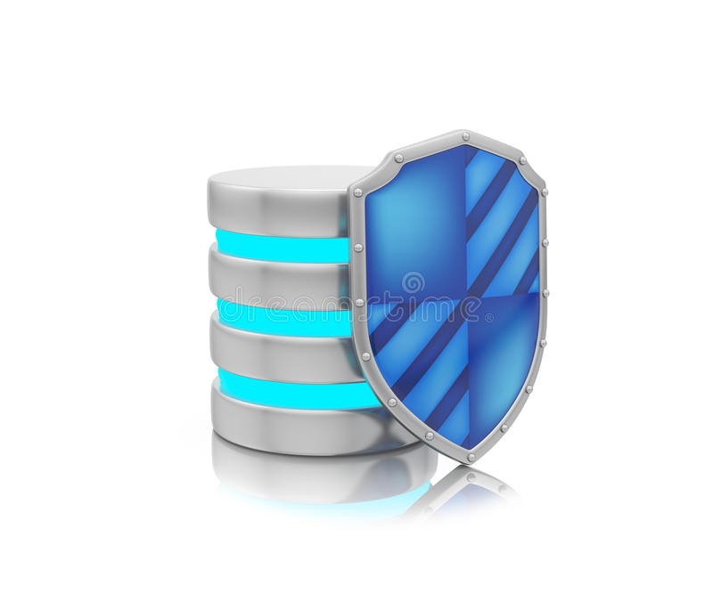 Download Information Security, Server Concept Stock Illustration - Image: 32261421