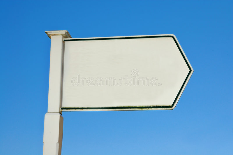 Information sign stock image