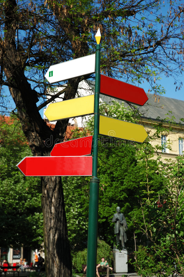 Free Information Signs Stock Photography - 2359522