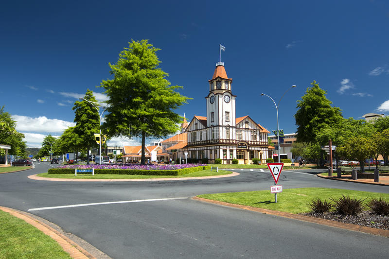 Information/Tourist Centre, Rotorua, New Zealand. Information/Tourist Centre in Rotorua, New Zealand royalty free stock photos