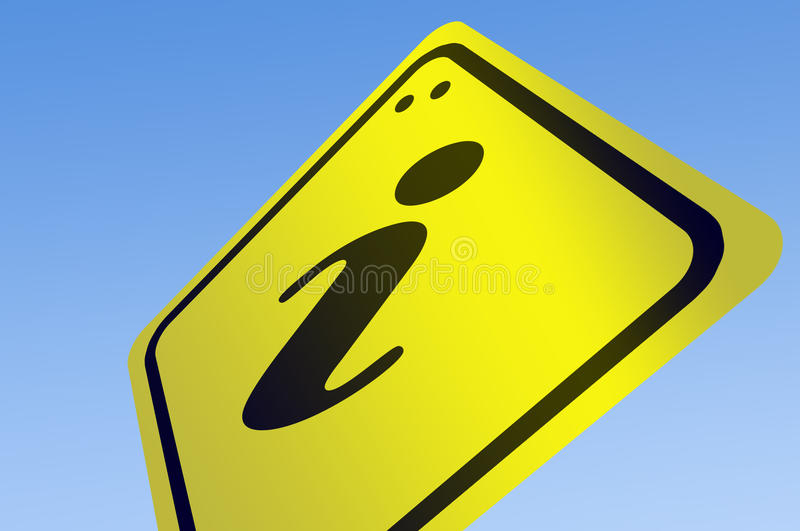 Download Information Word On Road Sign Royalty Free Stock Image - Image: 22556136