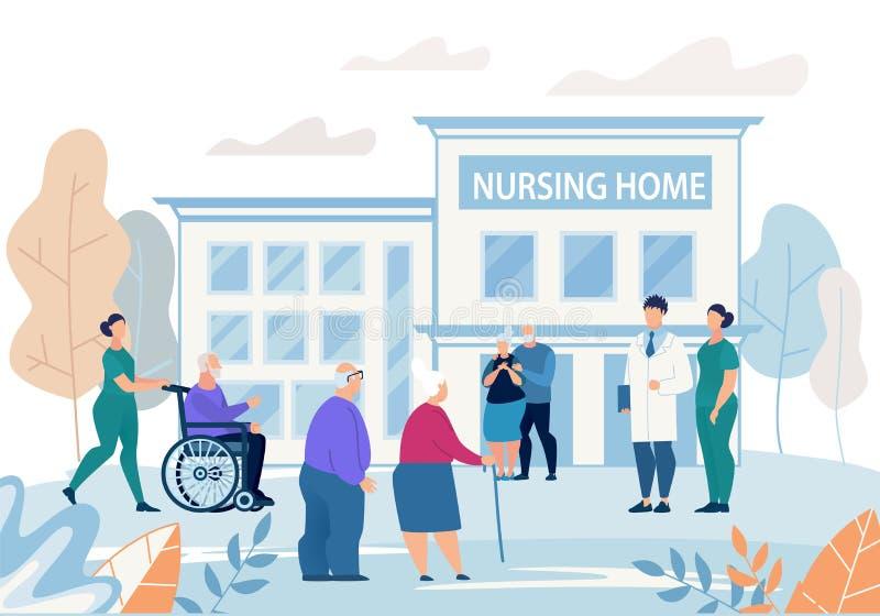 Nursing Home Stock Illustrations – 3,967 Nursing Home Stock Illustrations,  Vectors & Clipart - Dreamstime