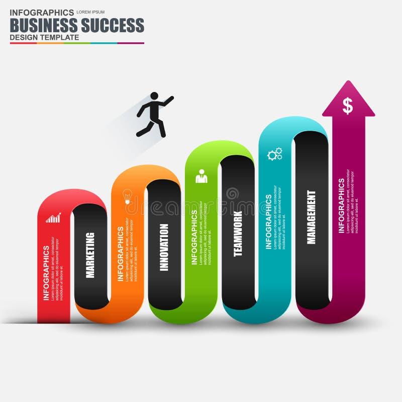 Informationen infographics Design Infographics-Statistikvektor lizenzfreie abbildung