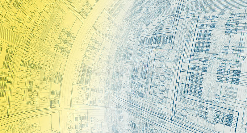 Informations-Architektur vektor abbildung