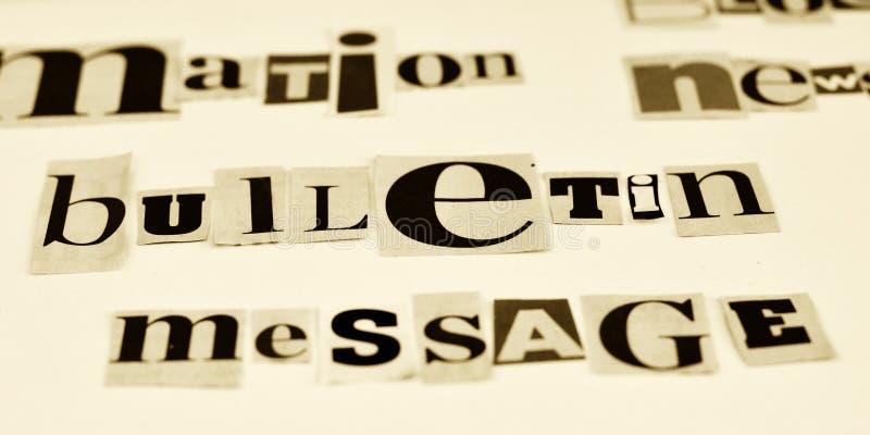 Informationsbladbegrepp arkivbild