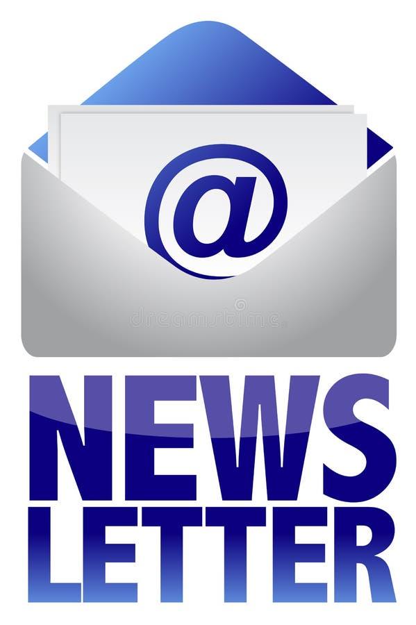 Informationsbladbegreppet Avbildar Av Text Och E-post Arkivfoton