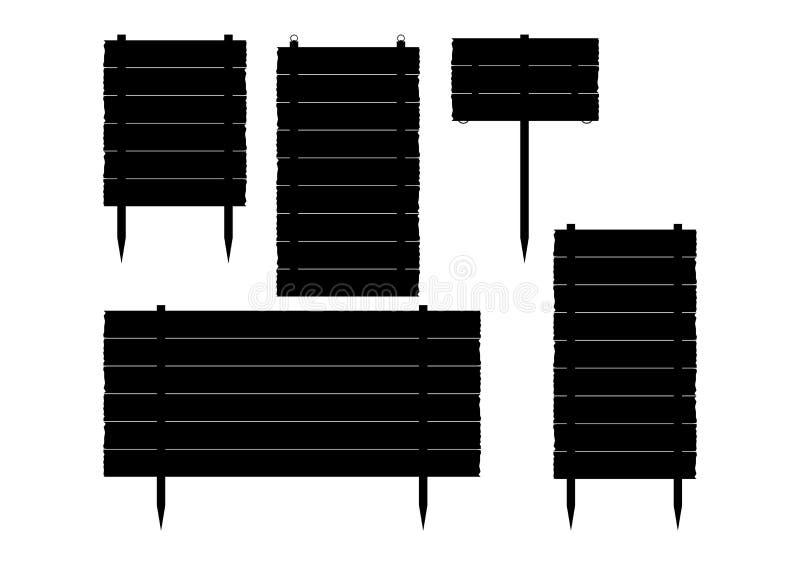 Informationsbräden om tappning. stock illustrationer