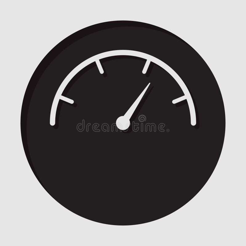 Informationssymbol - visartavlasymbol stock illustrationer