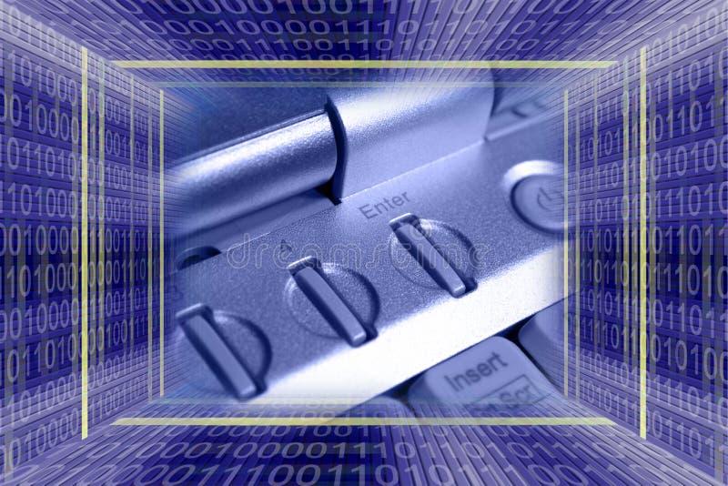 Informationstechnologie backgro lizenzfreie stockbilder