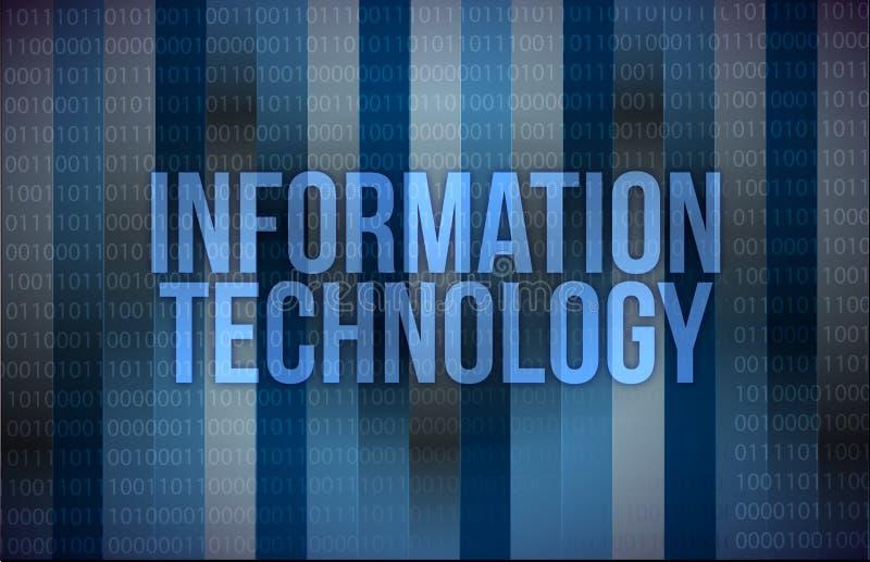 Informationstechnologie, Internet-Konzept lizenzfreie abbildung