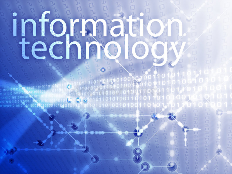 Informationstechnologieabbildung vektor abbildung
