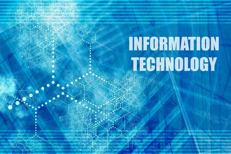 informationsteknik royaltyfri illustrationer