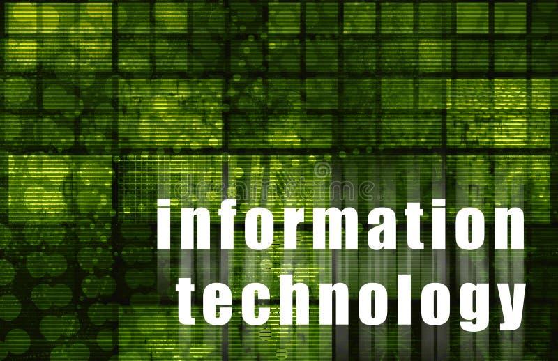 informationsteknik stock illustrationer