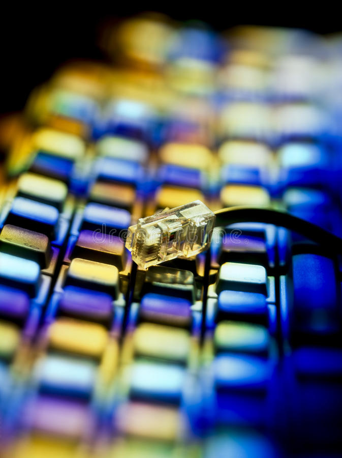 Informatique d'Internet de clavier