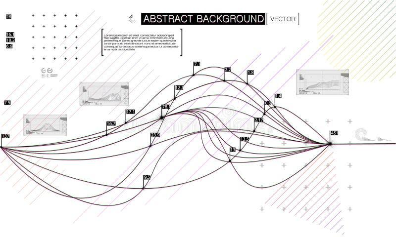Informatique quantique, apprenant profondément l'intell artificiel illustration stock