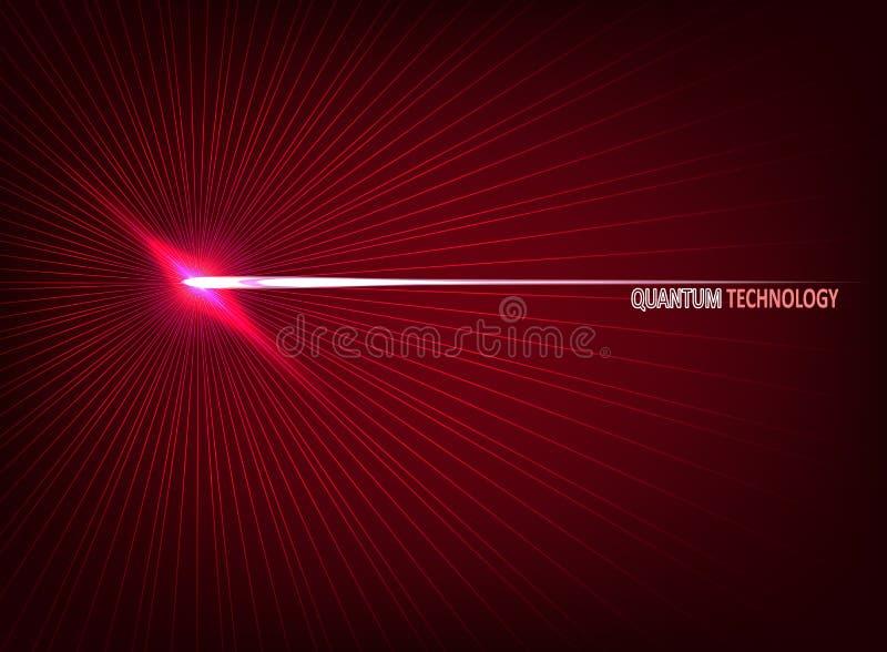Informatique quantique, apprenant profondément l'intelligence artificielle, illustrations infographic de vecteur de cryptographie illustration de vecteur