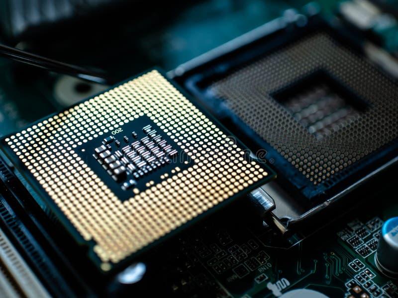Informatyki jednostki centralnej mikroprocesoru projekta temat obrazy royalty free