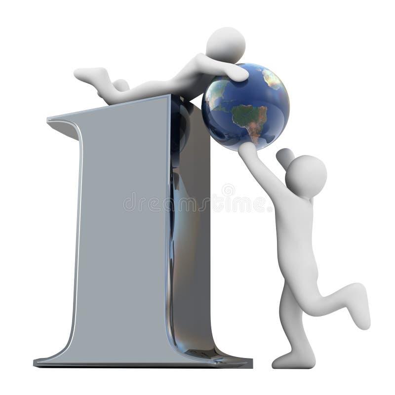 Informazioni globali illustrazione di stock