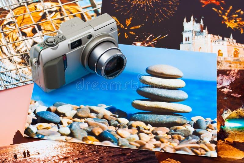 Informe de ejecución de la cámara y de la foto (mis fotos) foto de archivo