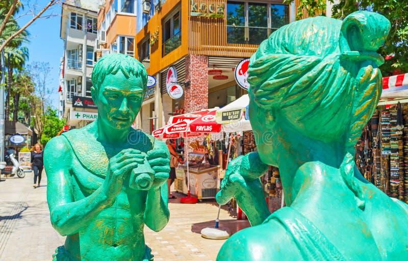 Download Informe De La TV En El Centro De Antalya Foto de archivo editorial - Imagen de configuración, camera: 100530643