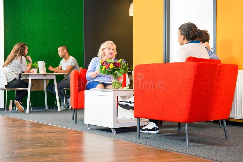 Informele vergaderingen stock fotografie