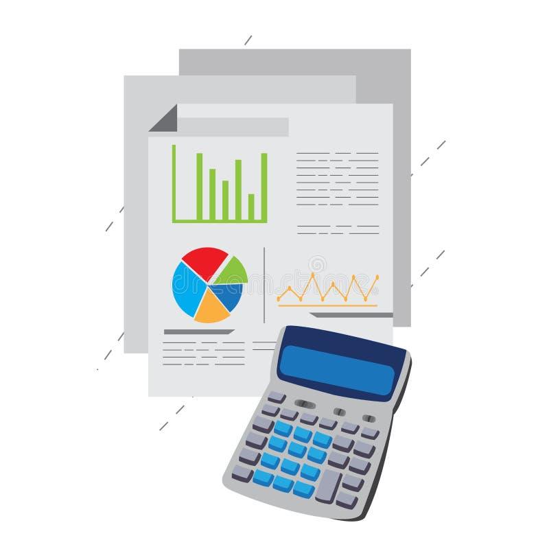 Informes de negocios con una calculadora libre illustration
