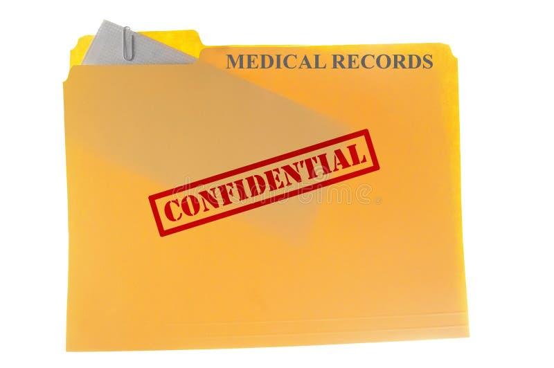 Informes médicos fotografia de stock