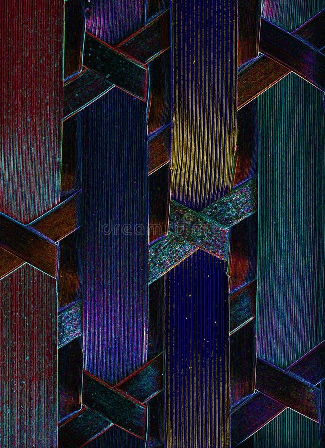 Infra Bild der Computerverbindungshitze stockbilder