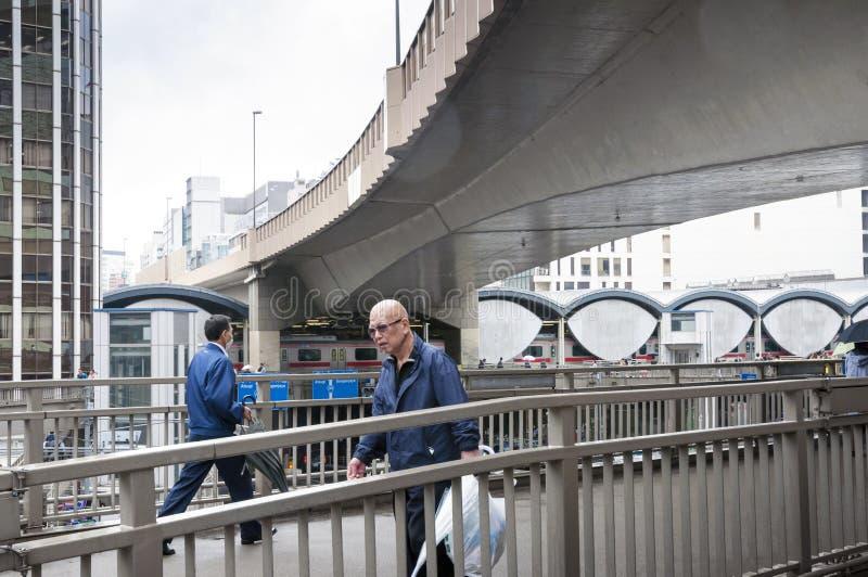 Infraestructura de Tokio imágenes de archivo libres de regalías