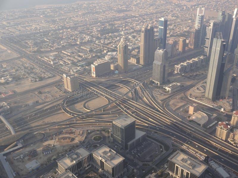 Infraestructura, Dubai fotografía de archivo