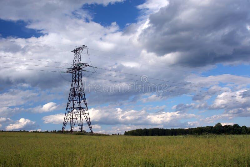 Infraestructura eléctrica fotografía de archivo